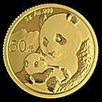 Chinese Gold Panda 2019 - 3 g thumbnail