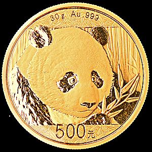 Chinese Gold Panda 2018 - 30 g