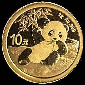 Chinese Gold Panda 2020 - 1 g