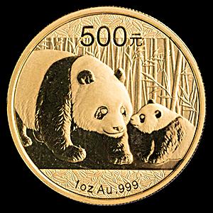 Chinese Gold Panda 2011 - 1 oz