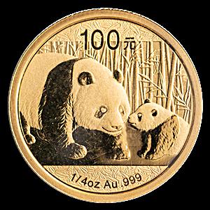 Chinese Gold Panda 2011 - 1/4 oz