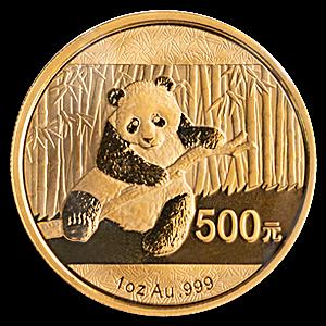 Chinese Gold Panda 2014 - 1 oz