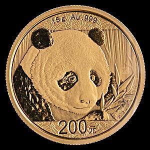 Chinese Gold Panda 2018 - 15 g