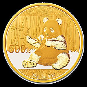 Chinese Gold Panda 2017 - 30 g