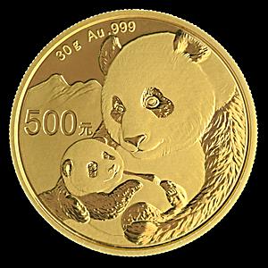 Chinese Gold Panda 2019 - 30 g