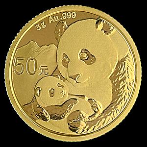 Chinese Gold Panda 2019 - 3 g