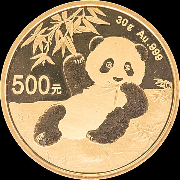 Chinese Gold Panda 2020 - 30 g