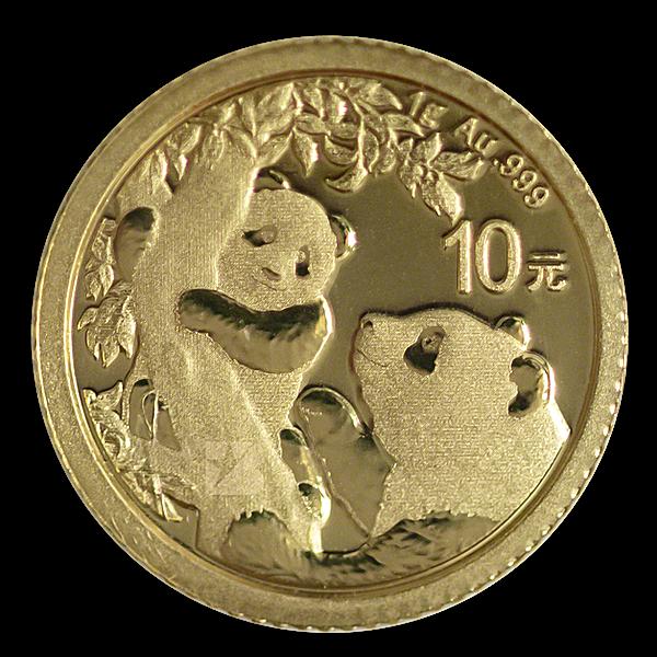 Chinese Gold Panda 2021 - 1 g