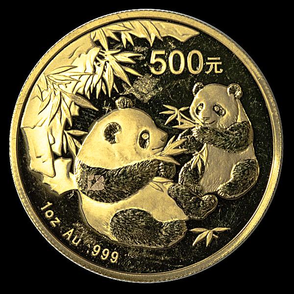 Chinese Gold Panda 2006 - 1 oz
