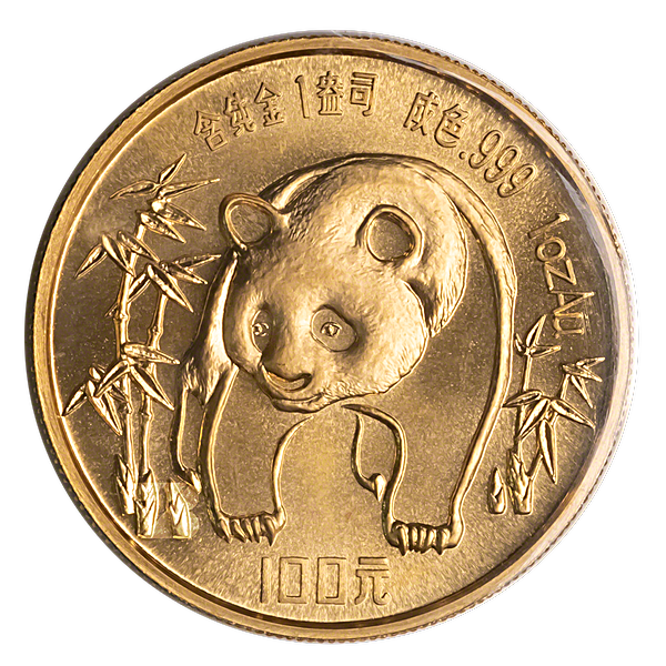 Chinese Gold Panda 1986 - 1 oz