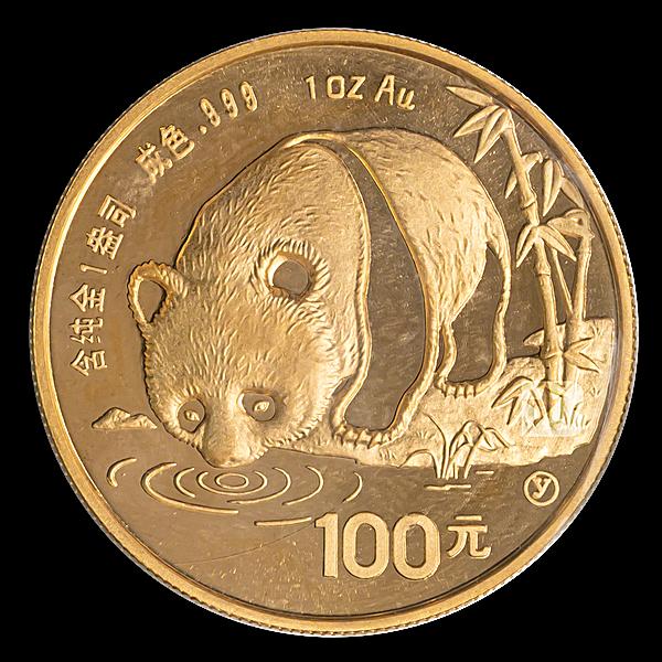 Chinese Gold Panda 1987 - 1 oz