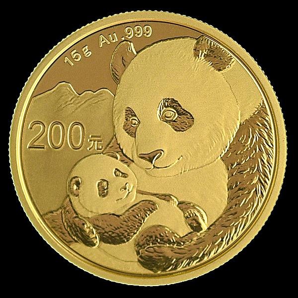 Chinese Gold Panda 2019 - 15 g