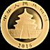 Chinese Gold Panda 2016 - 30 g thumbnail