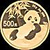 Chinese Gold Panda 2020 - 30 g thumbnail