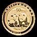 Chinese Gold Panda 2010 - 1/10 oz thumbnail