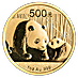 Chinese Gold Panda 2011 - 1 oz thumbnail