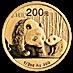 Chinese Gold Panda 2011 - 1/2 oz thumbnail