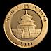 Chinese Gold Panda 2011 - 1/10 oz thumbnail