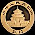 Chinese Gold Panda 2012 - 1/2 oz thumbnail