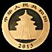Chinese Gold Panda 2013 - 1/2 oz thumbnail