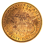 Liberty Gold Double Eagle 1899 - Graded MS 62 by NGC - 0.9675 oz thumbnail