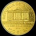 Austrian Gold Philharmonic 2014 - 1 oz thumbnail