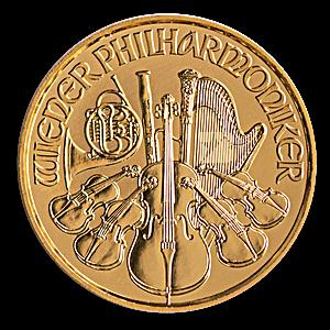 Austrian Gold Philharmonic 2021 - 1/10 oz