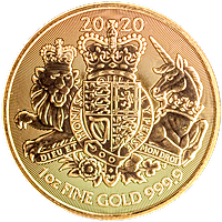 United Kingdom Gold Royal Arms 2020 - 1 oz