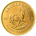 South African Krugerrand - Various Years - 1 oz