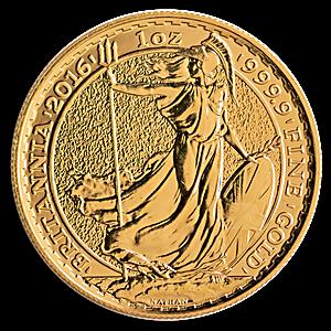 United Kingdom Gold Britannia 2016 - 1 oz