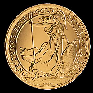 United Kingdom Gold Britannia 2013 - 1 oz