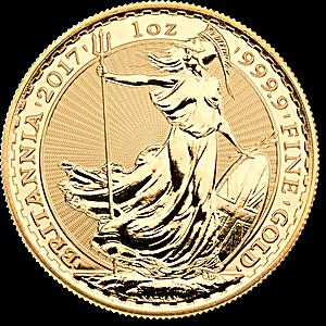 United Kingdom Gold Britannia 2017 - 1 oz