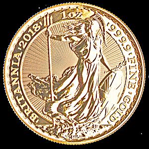 United Kingdom Gold Britannia 2018 - 1 oz