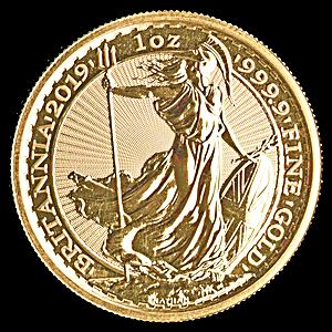 United Kingdom Gold Britannia 2019 - 1 oz