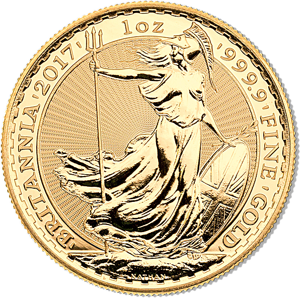 United Kingdom Gold Britannia 2017 - 1 oz