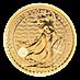 United Kingdom Gold Britannia 2021 - 1/10 oz thumbnail