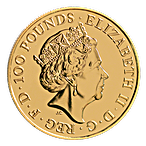 United Kingdom Gold Lunar Monkey 2016 - 1 oz thumbnail