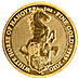 United Kingdom Gold Queen's Beast 2020 - The White Horse of Hanover - 1 oz thumbnail