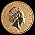 United Kingdom Gold Queen's Beast 2018 - Unicorn - 1/4 oz thumbnail