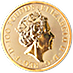 United Kingdom Gold Queen's Beast 2018 - Unicorn - 1 oz thumbnail