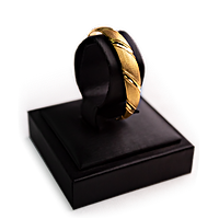Gold Bangle - 24 K - 18.73 g