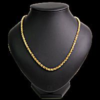 Gold Necklace - 22 K - 54.81 g