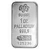 PAMP Palladium Bar - Circulated in good condition - 1 oz