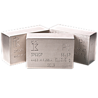 Gulidov-Krasnoyarsk Good Delivery Platinum Bars