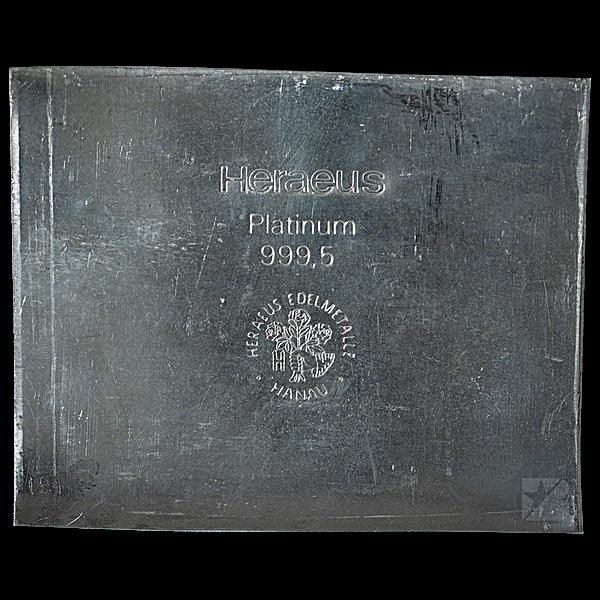 Heraeus Platinum Bar - 36.148 oz