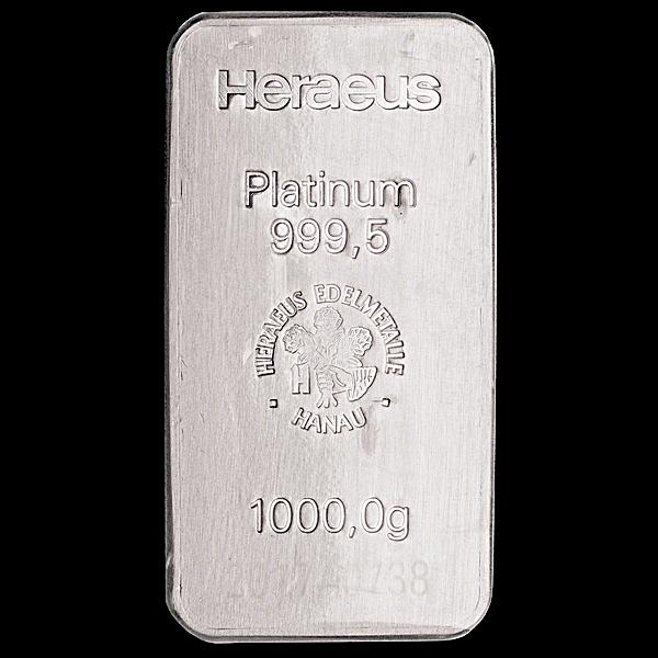 Heraeus Platinum Bar - 1 kg