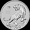 Australian Platinum Lunar Series 2022 - Year of the Tiger - 1 oz