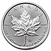 Canadian Platinum Maple Leaf - 2017 - 1 oz
