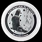 Australian Platinum Platypus 2011 - 1 oz  thumbnail