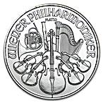 Austrian Platinum Philharmonic 2016 - 1 oz thumbnail